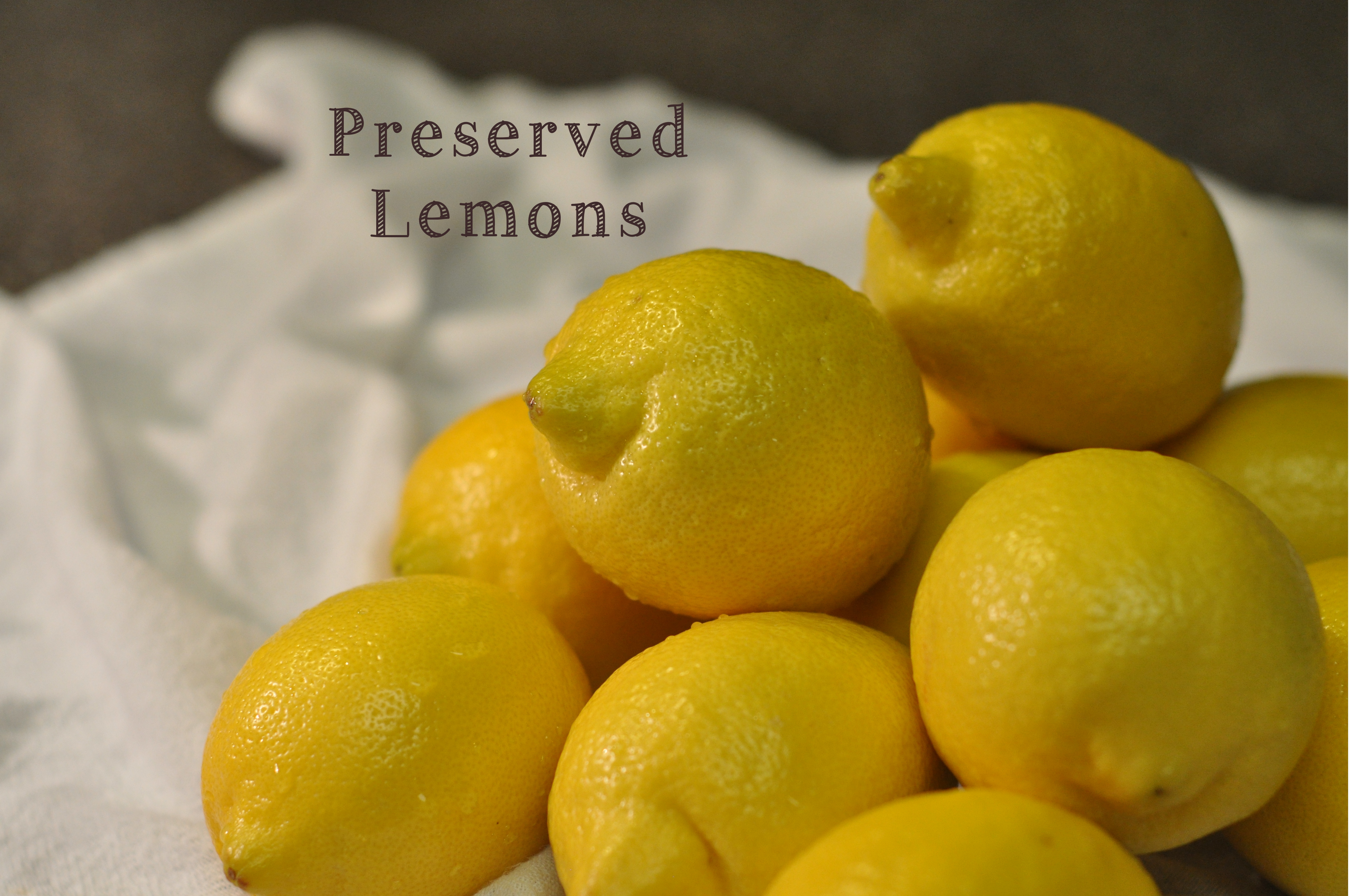 Preserved Lemons Recipe — Dishmaps